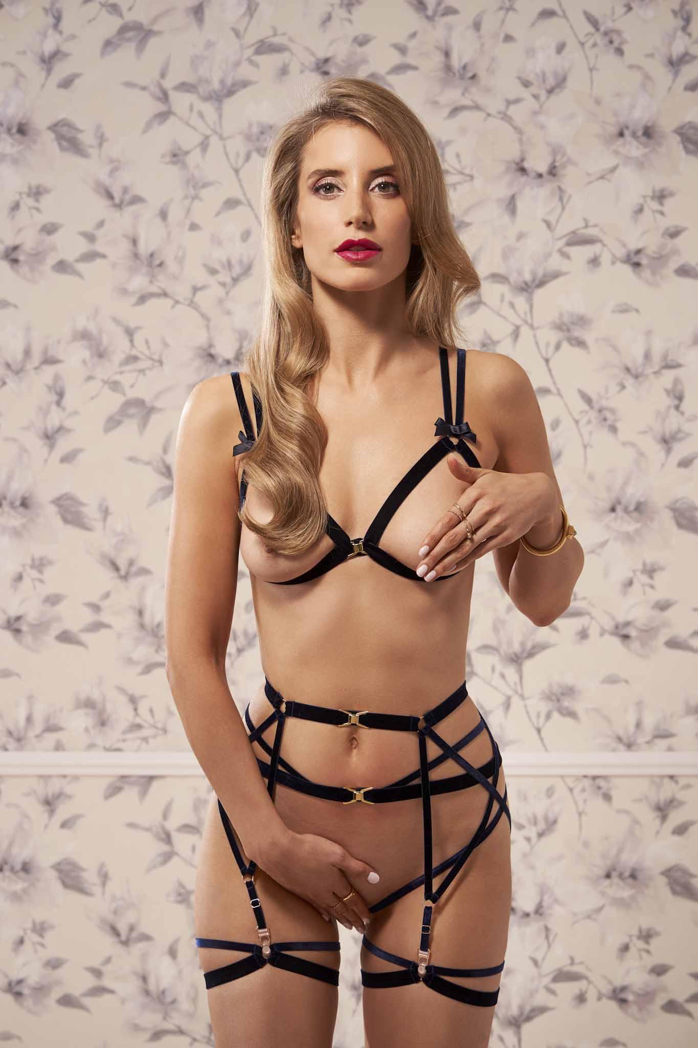 SOPHIE BLEU Harness Garter