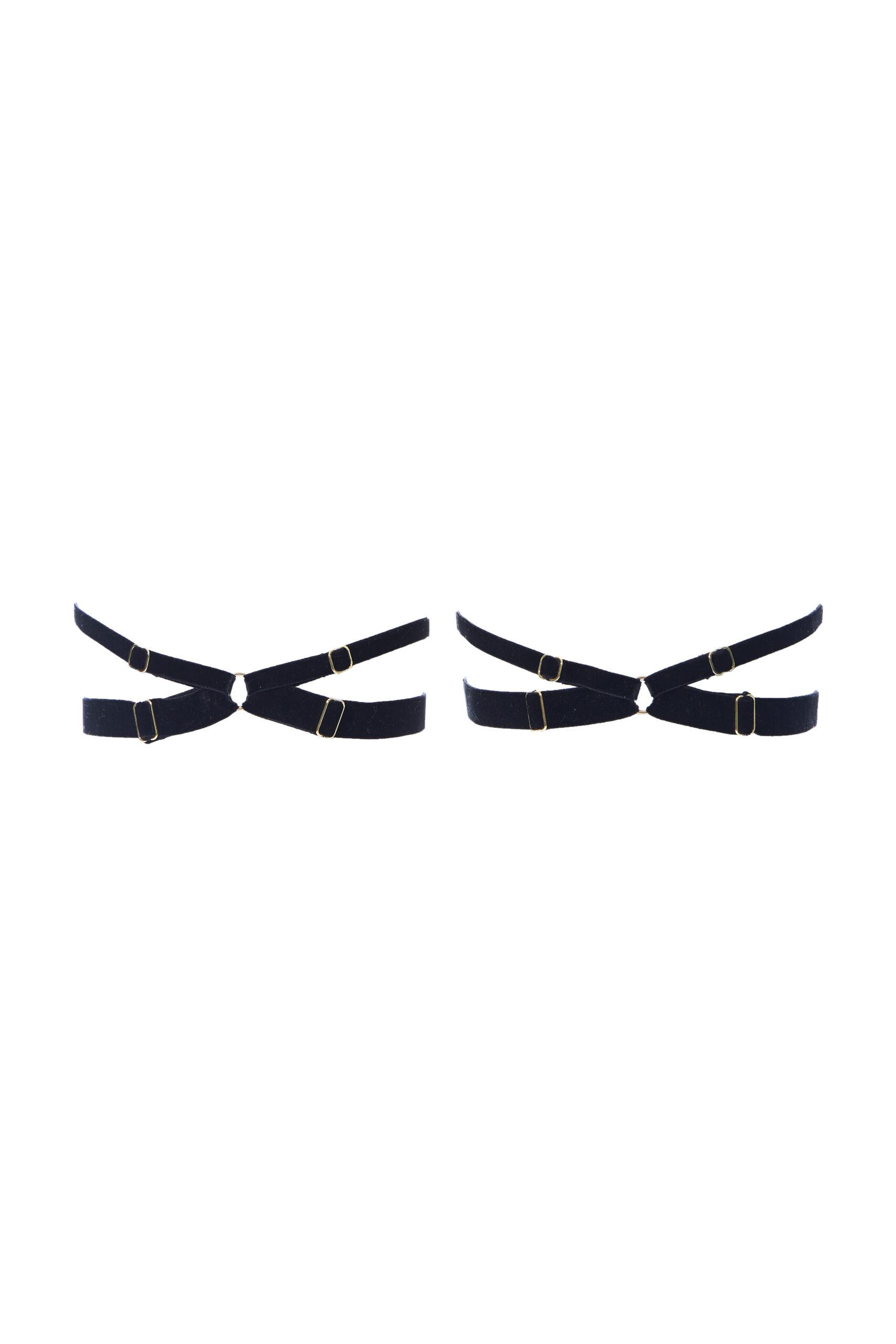 SOPHIE Black Harness Garter